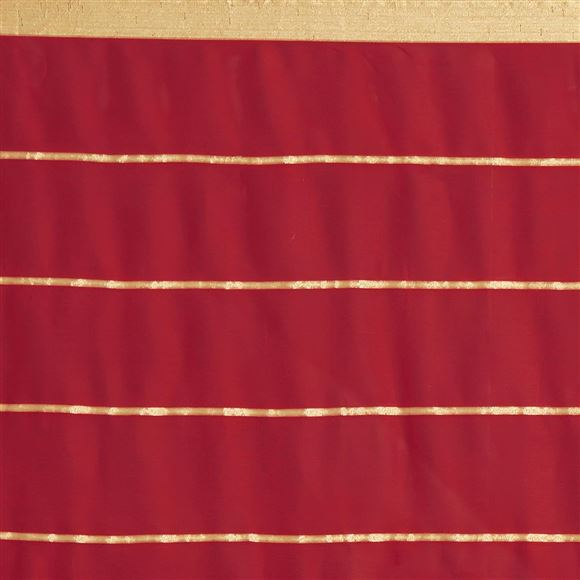 Impressive Simple Georgette Sarees In Red Color For Office Wear