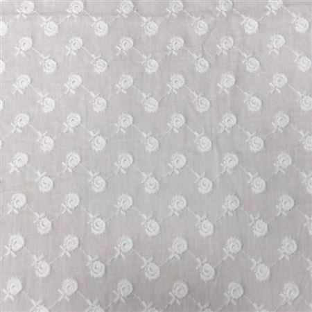 Beautiful Cambric Embroidery Fabric - GN-CMBE-01