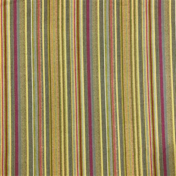 Gorgeous Green Color stripes on cambric cotton digital print fabric
